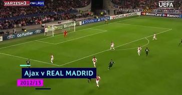 بهترین گلهای کریستیانو رونالدو در لیگ قهرمانان اروپا|فیلم