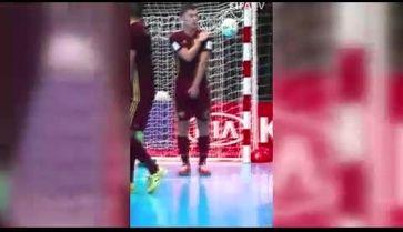 شوت و گل وحشتناک تیم ملی فوتسال ایران به میزبان جام جهانی